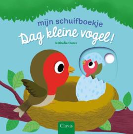 Uitgeverij Clavis Schuifboekje - Dag Kleine Vogel +1jr