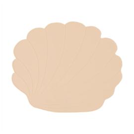 OYOY Placemat Seashell Schelp - Vanilla