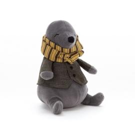 Jellycat Riverside Rambler Mole - Knuffel Mol