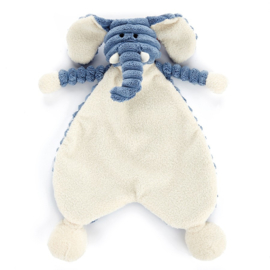 Jellycat Cordy Roy Baby Elephant Soother - Knuffeldoek Baby Olifant