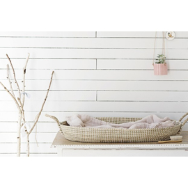 Olli Ella Oval Basket - Luxe Matras Sage