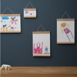 Side by Side Poster Hanger 70 cm - Essenhout