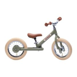 Trybike Steel Loopfiets - Vintage Groen