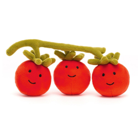 Jellycat Vivacious Vegetable Tomato - Knuffel Tomaat (21 cm)