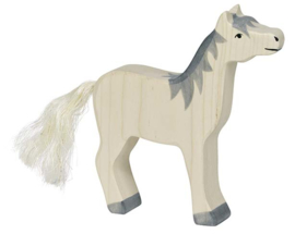 Holztiger Paard  - Grijs (80360)