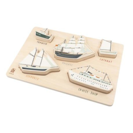 Sebra Wooden Chunky Puzzle  - Seven Seas