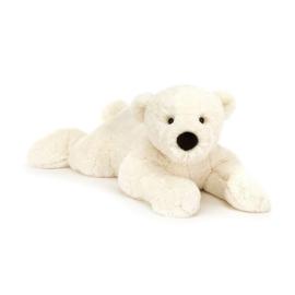 Jellycat Scrumptious Perry Polar Bear Lying - Knuffel IJsbeer (68 cm)