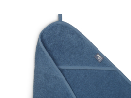 Jollein Badcape badstof - Jeans Blue