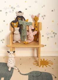 Roommate Knuffel Rag Doll Rhino - Neushoorn (op=op)