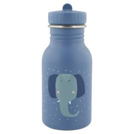 Trixie Drinkfles RVS Mrs. Elephant - Blauw (350 ml)