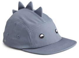 Liewood Pet Rory Cap - Dino Blue Wave (5-8 jaar)