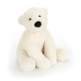 Jellycat Scrumptious Perry Polar Bear Medium - Knuffel IJsbeer (26 cm)