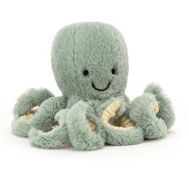 Jellycat Knuffel Octopus - Odyssey Baby (14 cm)