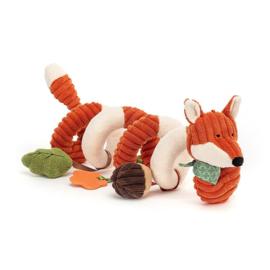 Jellycat Cordy Roy Baby Fox - Activity Toy Spiraal Vos