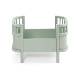 Sebra The Sebra Doll's Bed Poppenbedje - Mist Green