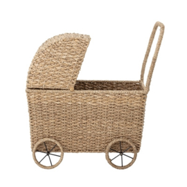 Bloomingville Poppenwagen Toy Pram - Nature