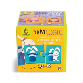 Ludattica Puzzel Baby Logic - Tegenstellingen + 3jaar