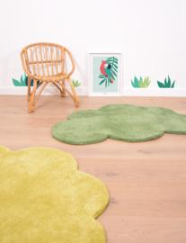 Lilipinso Vloerkleed Wolk - Palm Groen (H0515) (op=op)