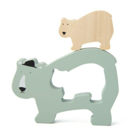 Trixie Houten Babypuzzel - Mr. Polar Bear