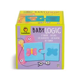Ludattica Puzzel Baby Logic - Silhouetten + 3jaar