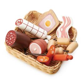 Tender Leaf Markt Mandje Vlees - Charcuterie Basket +3j