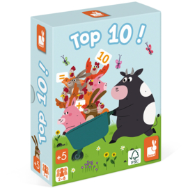 Janod Spel - Top 10! +4jr