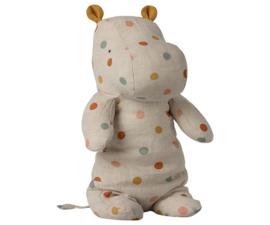 Maileg Safari Friends Hippo Medium - Multi Dot (34cm)