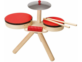 Plantoys Houten Musical Band - Rood
