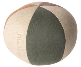 Maileg Bal - Dusty Green/ Coral Glitter