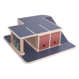 Sebra Houten Garage - Wooden Garage