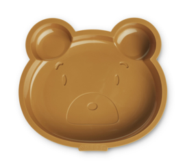 Liewood Cakevorm Amory Cake Pan - Mr Bear Golden Caramel
