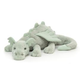 Jellycat Knuffel Draak - Sage Dragon Huge