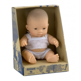 Miniland Babypop Aziatisch - Boy (21 cm)