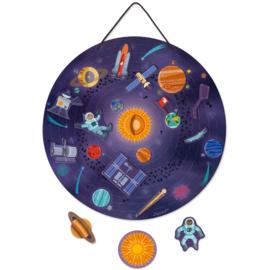 Janod Magneetbord - Het Zonnestelsel +7jr