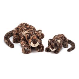 Jellycat Big Cats Livi Leopard Medium - Knuffel Luipaard (29 cm)