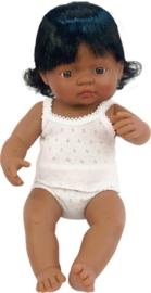 Miniland Babypop Latijns Amerikaans - Girl (38 cm)