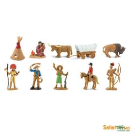 Safari Speelfiguren Toob Set - Wilde Westen