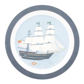 Sebra Melamine Rond Bord - Seven Seas