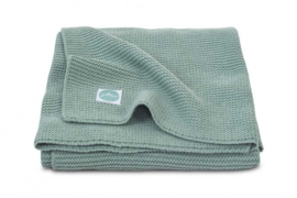 Jollein Gebreide Wiegdeken Basic Knit - Forest Green