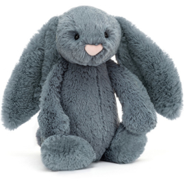 Jellycat Bashful Bunny Dusky Blue - Knuffel Konijn (31 cm)