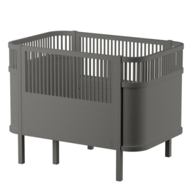 Sebra Kili Baby en Junior Bed - Grijs