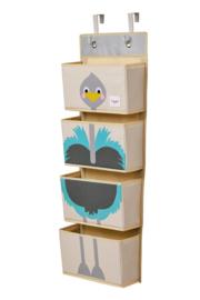 3 Sprouts Wand Organizer - Struisvogel
