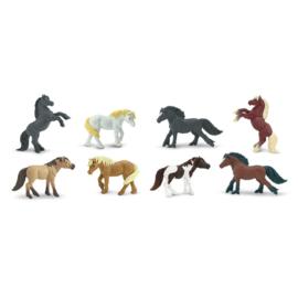 Safari Speelfiguren Toob Set - Pony's