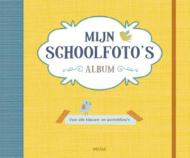 Uitgeverij Deltas Mijn Schoolfoto's Album - Geel