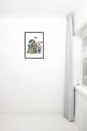 Kek Amsterdam Poster A2 - Fiep Westendorp Kleine Ridder (PS-008)