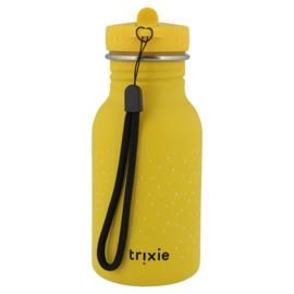 Trixie Drinkfles RVS Mr. Lion - Geel (350 ml)