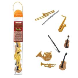 Safari Speelfiguren Toob Set - Muziekinstrumenten