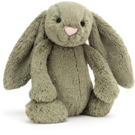 Jellycat Bashful Bunny Fern - Knuffel Konijn (31 cm)