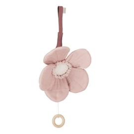 CamCam Muziekmobiel  Anemoon Rose - Windflower Dusty Rose