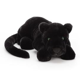 Jellycat Paris Panther Large - Knuffel Zwarte Panter (46 cm)